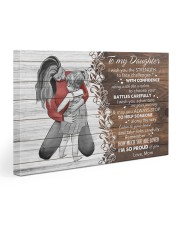 I Wish The Strenght To Face Challenges To Daughter Gallery Wrapped Canvas Prints tile