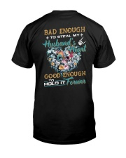 Bad Enough To Steal My Husband's Heart Classic T-Shirt thumbnail