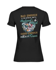 Bad Enough To Steal My Husband's Heart Premium Fit Ladies Tee thumbnail