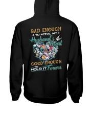 Bad Enough To Steal My Husband's Heart Hooded Sweatshirt thumbnail