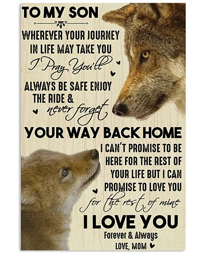 To My Son Your Way Back Home