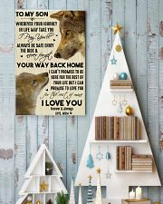 To My Son Your Way Back Home 11x17 Poster lifestyle-holiday-poster-2