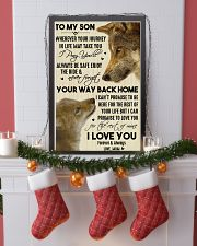 To My Son Your Way Back Home 11x17 Poster lifestyle-holiday-poster-4