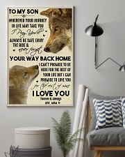 To My Son Your Way Back Home 11x17 Poster lifestyle-poster-1