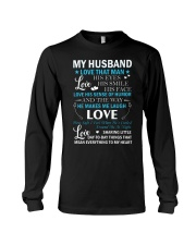 Love The Way My Husband Makes Me Laugh Long Sleeve Tee thumbnail