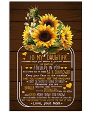 I Hope U Believe In Yourself Mom To Daughter 11x17 Poster thumbnail