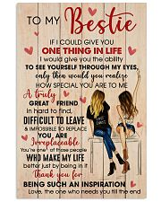 Bestie Thank For Being Such An Inspiration 11x17 Poster front