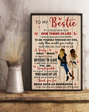Bestie Thank For Being Such An Inspiration 11x17 Poster lifestyle-poster-3
