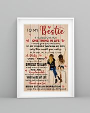 Bestie Thank For Being Such An Inspiration 11x17 Poster lifestyle-poster-5