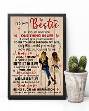 Bestie Thank For Being Such An Inspiration 11x17 Poster lifestyle-poster-8