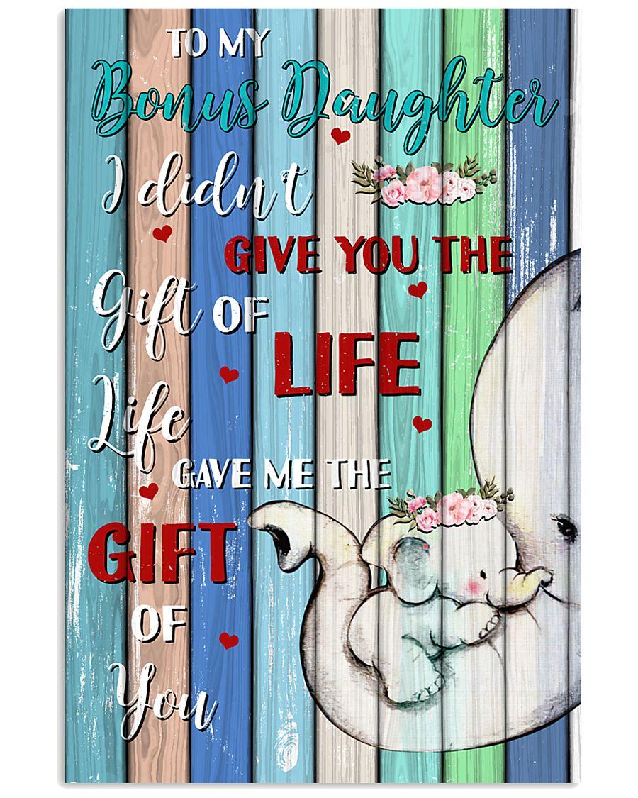 To My Bonus Daughter 11x17 Poster