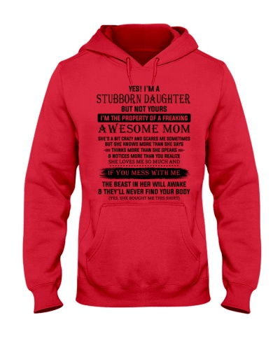 I'm A Stubborn Daughter Of A Freaking Awesome Mom