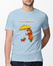Kindness is a Lifestyle Classic T-Shirt lifestyle-mens-crewneck-front-13