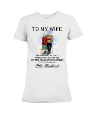 wife you are my queen forever from Grumpy husband Premium Fit Ladies Tee thumbnail