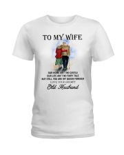 wife you are my queen forever from Grumpy husband Ladies T-Shirt thumbnail