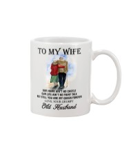 wife you are my queen forever from Grumpy husband Mug thumbnail