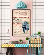 To My Husband I Love You Because You Are My Life 11x17 Poster lifestyle-poster-6