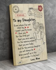 Even When I'm Not Close By Mom To Daughter 16x24 Gallery Wrapped Canvas Prints aos-canvas-pgw-16x24-lifestyle-front-02