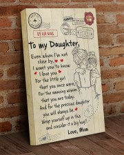 Even When I'm Not Close By Mom To Daughter 16x24 Gallery Wrapped Canvas Prints aos-canvas-pgw-16x24-lifestyle-front-03