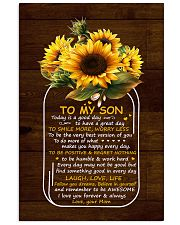 Today Is A Good Day  Mom To Son 11x17 Poster thumbnail