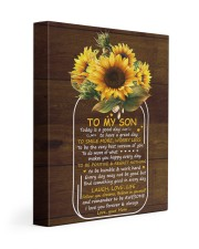 Today Is A Good Day  Mom To Son 11x14 Gallery Wrapped Canvas Prints front