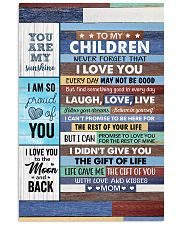 Never Forget That I Love U Mom To Daughter Vertical Poster tile