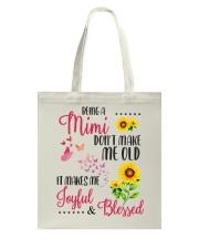 BEING A mimi Tote Bag thumbnail