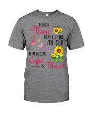 BEING A mimi Classic T-Shirt front