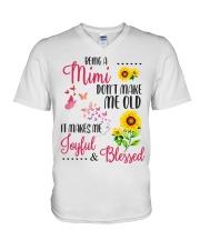 BEING A mimi V-Neck T-Shirt thumbnail