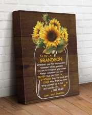U Are Braver Than U Think Grandma To Grandson 11x14 Gallery Wrapped Canvas Prints aos-canvas-pgw-11x14-lifestyle-front-14