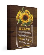 U Are Braver Than U Think Grandma To Grandson 11x14 Gallery Wrapped Canvas Prints front