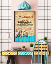 Never Forget How Much I Love U Pig Mom To Daughter 11x17 Poster lifestyle-poster-6