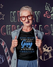 My Husband Ladies T-Shirt lifestyle-holiday-crewneck-front-3