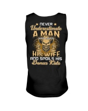 Never Underestimate A Man Who Loves His Wife Unisex Tank thumbnail