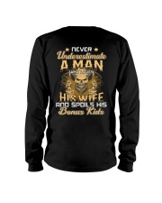 Never Underestimate A Man Who Loves His Wife Long Sleeve Tee thumbnail