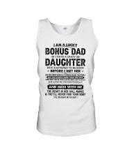 I Am A Lucky Bonus Dad Have A Crazy Daughter Unisex Tank thumbnail