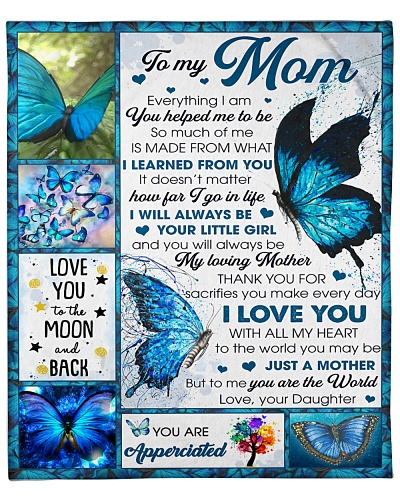 Mom Butterfly Thanks For Sacrifies UMake Every Day