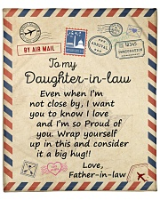 """Even When Im Not Close By FIL To Daughter-In-Law  Fleece Blanket - 50"""" x 60"""" front"""
