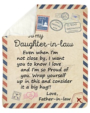Even When Im Not Close By FIL To Daughter-In-Law  Sherpa Fleece Blanket tile