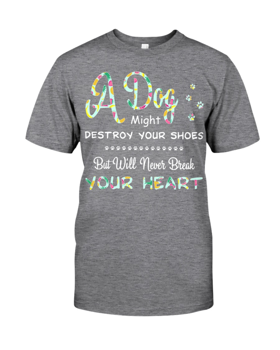 Dogs  will never break your heart  Classic T-Shirt