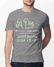 Dogs  will never break your heart  Classic T-Shirt lifestyle-mens-crewneck-front-13