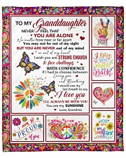 """Never Feel That You Are Alone GM To GD Fleece Blanket - 50"""" x 60"""" front"""