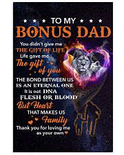 Bonus Dad Lion Heart That Makes Us Family 11x17 Poster thumbnail