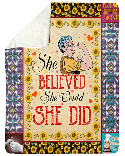 She Believed She Could She Did