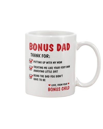 Bonus Dad Thanks For Being The Dad