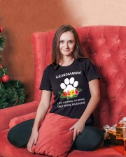 Grandpaw Ladies T-Shirt lifestyle-holiday-womenscrewneck-front-2