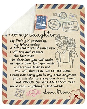 """My Girl Yesterday My Friend Today Mom To Daughter Sherpa Fleece Blanket - 50"""" x 60"""" thumbnail"""