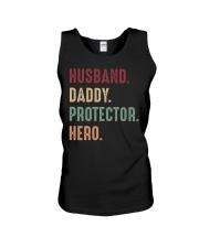 Husband Daddy Protectoe Hero Unisex Tank thumbnail