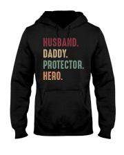 Husband Daddy Protectoe Hero Hooded Sweatshirt thumbnail