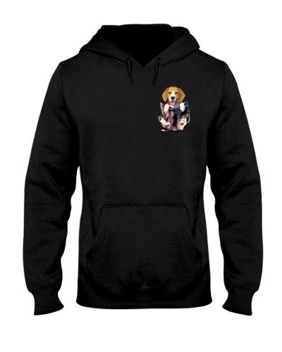 Beagle flag pocket